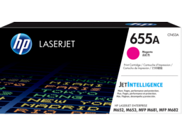 HP 655A Magenta Original LaserJet Toner Cartridge, CF453A