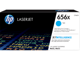 HP 656X High Yield Cyan Original LaserJet Toner Cartridge, CF461X