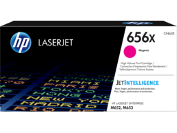 HP 656X High Yield Magenta Original LaserJet Toner Cartridge, CF463X