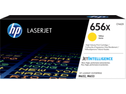 HP 656X High Yield Yellow Original LaserJet Toner Cartridge, CF462X