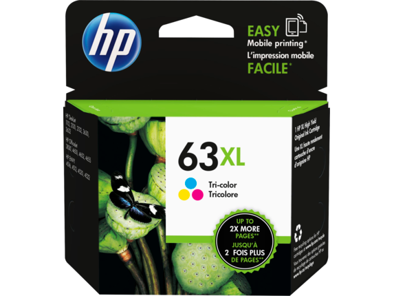 HP 63XL High Yield Tri-color