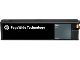 HP 981X High Yield Black Original PageWide Cartridge