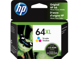 HP 64XL High Yield Tri-color Original Ink Cartridge