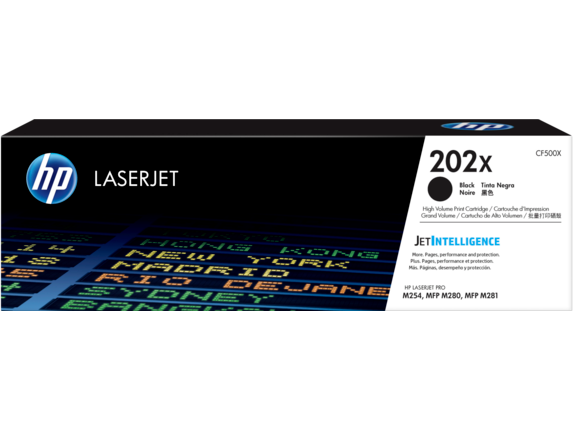 HP 202X High Yield Black Original LaserJet Toner Cartridge