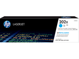 HP 202X High Yield Cyan Original LaserJet Toner Cartridge