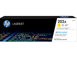 HP 202A Yellow Original LaserJet Toner Cartridge