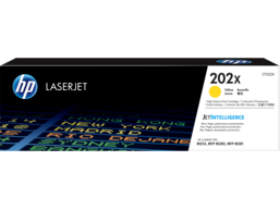 HP 202X High Yield Yellow Original LaserJet Toner Cartridge