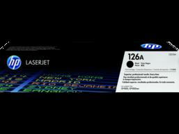 HP 126A Black Original LaserJet Toner Cartridge, CE310A