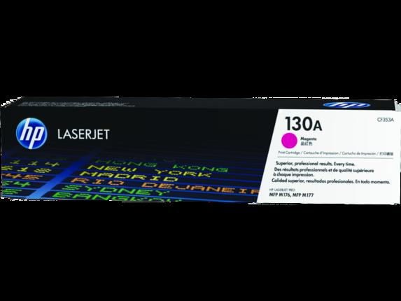 HP 130A Magenta Original LaserJet Toner Cartridge, CF353A