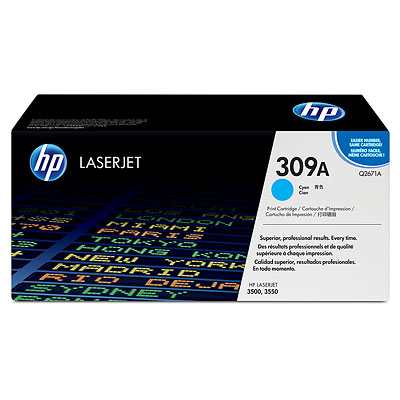 HP Color LaserJet Q2671A Cyan Toner Cartridge