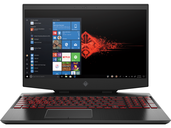 "HP OMEN 15.6"" Gaming Laptop (i7/16GB RAM/512GB SSD/6GB Video)"