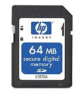 HP 디지털 카메라 메모리