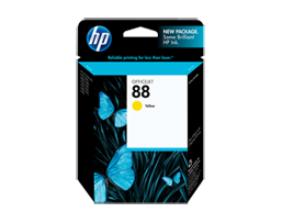 HP 88 Yellow Original Ink Cartridge