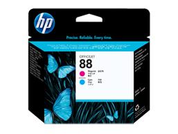 HP 88 Magenta and Cyan Original Printhead