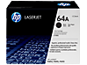 HP 64A Black Original LaserJet Toner Cartridge, CC364A - Center
