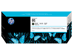 HP 91 775-ml Matte Black DesignJet Pigment Ink Cartridge