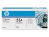 HP 53A Black Original LaserJet Toner Cartridge, Q7553A