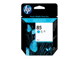 HP 85 28-ml Cyan DesignJet Ink Cartridge