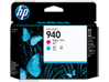 HP 940 Magenta and Cyan Original Printhead