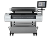 HP Designjet T1120 HD Multifunction Printer - Center