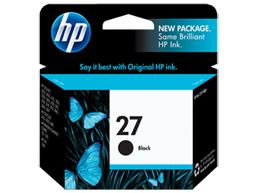 HP 27 Black Original Ink Cartridge