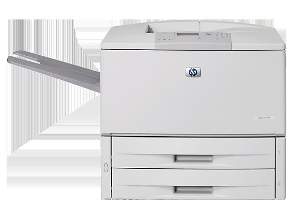 HP LaserJet 9040dn Printer - Center