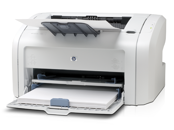 HP LaserJet 1018 Printer - Left