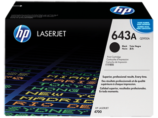 HP 643 Toner Cartridges