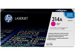 HP 314A Magenta Original LaserJet Toner Cartridge, Q7563A