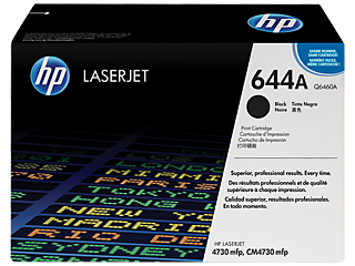 HP 644 Toner Cartridges