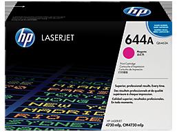 HP 644A Magenta Original LaserJet Toner Cartridge, Q6463A