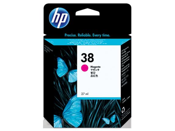 HP 38 Magenta Pigment Original Ink Cartridge