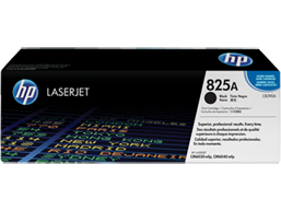 HP 825A Black Original LaserJet Toner Cartridge, CB390A