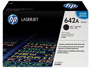 HP 642 Toner Cartridges