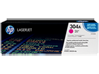 HP 304A Magenta Original LaserJet Toner Cartridge, CC533A - Center