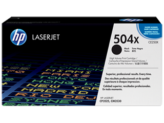 HP 504 Toner Cartridges