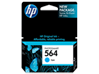 HP 564 Cyan Original Ink Cartridge - Center