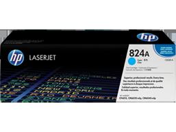 HP 824A Cyan Original LaserJet Toner Cartridge, CB381A