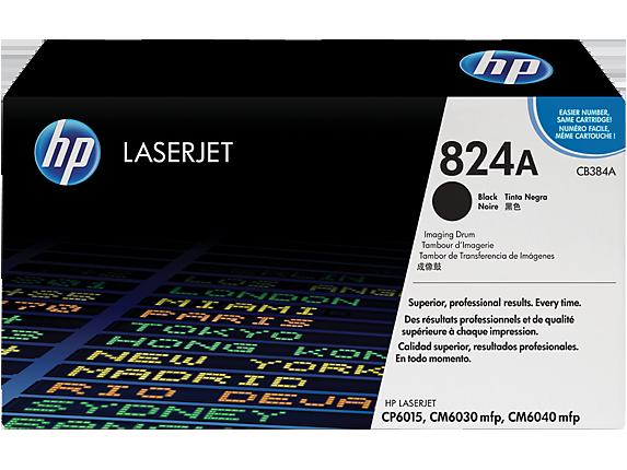 HP 824A Black LaserJet Image Drum, CB384A