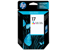 HP 17 Tri-color Original Ink Cartridge