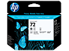 HP 72 Gray and Photo Black DesignJet Printhead - Center