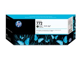 HP 772 300-ml Matte Black DesignJet Ink Cartridge