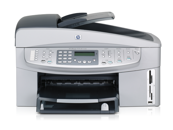 HP Officejet 7210xi All-in-One - Center