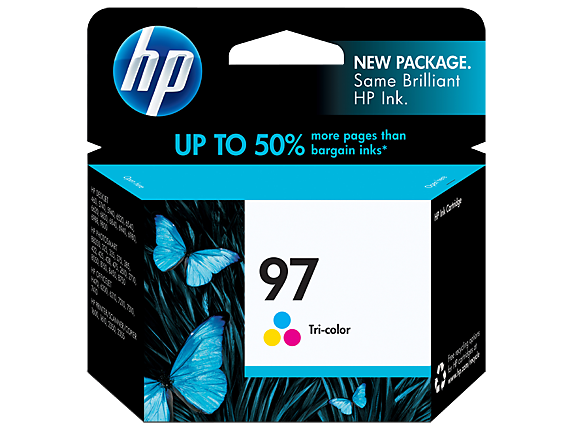 HP 97 Tri-color Original Ink Cartridge