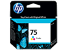 HP 75 Tri-color Original Ink Cartridge