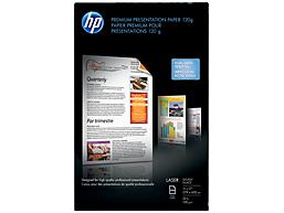 HP Premium Glossy Presentation Paper 120 gsm-250 sht/Tabloid/11 x 17 in