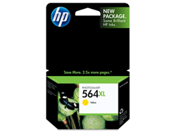 HP 564XL High Yield Yellow Original Ink Cartridge