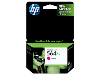 HP 564XL High Yield Magenta Original Ink Cartridge, CB324WN#140