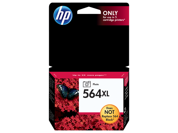HP 564XL High Yield Photo Original Ink Cartridge - Center