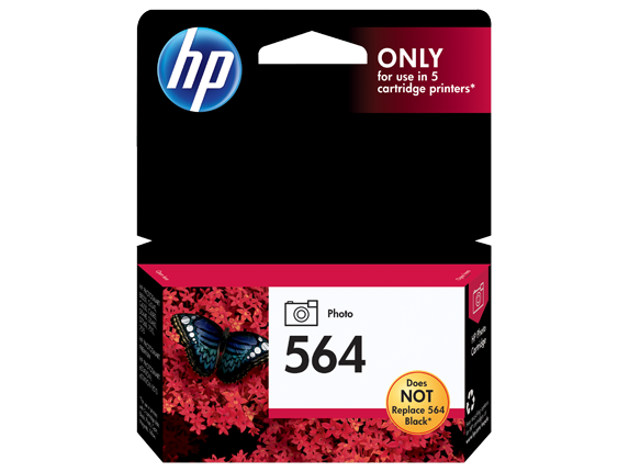 HP 564 Photo Original Ink Cartridge - Center